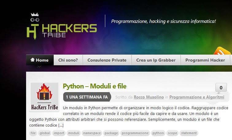 tribe of hackers  Cosa ne pensate di hackerstribe.com? - Blog Ecomostro